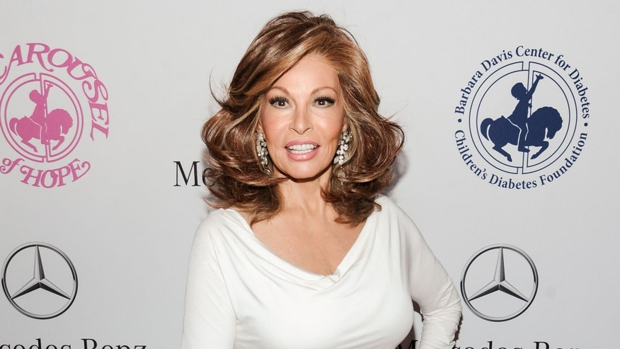 Oct. 11, 2014. Raquel Welch arrives at the 2014 Carousel Of Hope Ball in Beverly Hills, Calif.