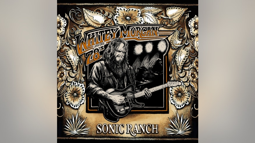 "The album cover for Whitey Morgan's album ""Sonic Ranch."""
