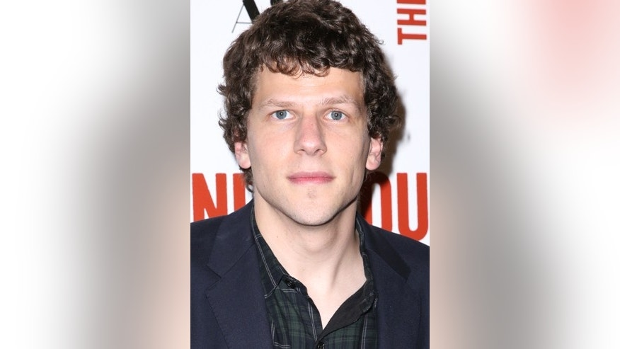 "Jesse Eisenberg arrives at the LA Premiere of ""The End of the Tour"" at the Writers Guild Theater, on Monday, July 13, 2015, in Beverly Hills, Calif."