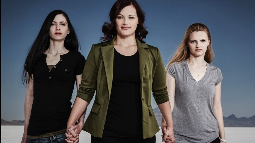 "Shanell, Jessica and Andrea from LMN's ""Escaping Polygamy"""