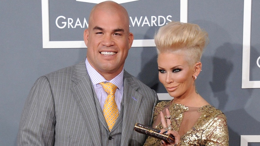 Tito Ortiz and Jenna Jameson in a 2013 file photo.