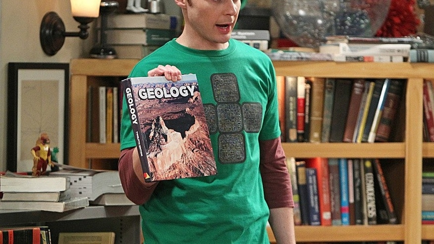 """Jim Parsons on the CBS Television Network's """"The Big Bang Theory."""""""