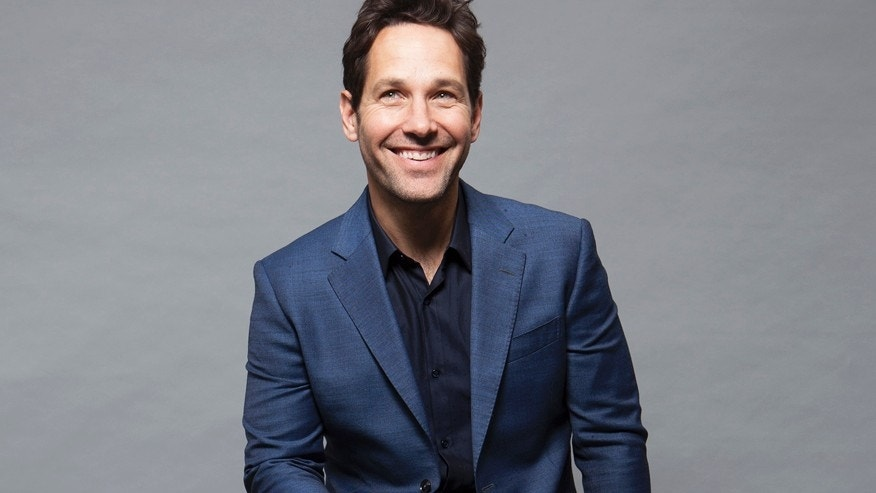"In this Saturday, June 27, 2015 photo, actor Paul Rudd poses for a portrait in promotion of the new film, ""Ant-Man"" in Burbank, Calif. The movie releases in the U.S. on July 17, 2015. (Photo by Rebecca Cabage/Invision/AP)"