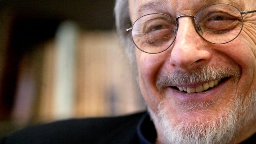 April 27, 2004: American author E.L. Doctorow smiles during an interview in his office at New York University in New York. (AP)