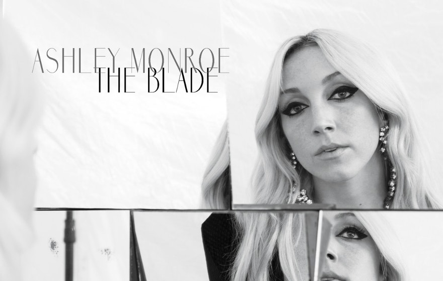 "This CD cover image released by Warner Music Nashville shows ""The Blade,"" a new release by Ashley Monroe, out Friday, July 24."