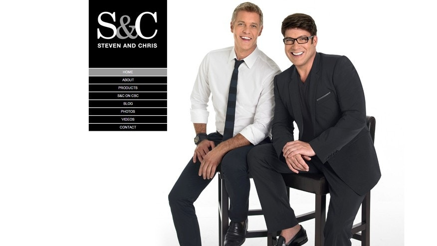 Steven Sabados and Chris Hyndman are shown on their official website.