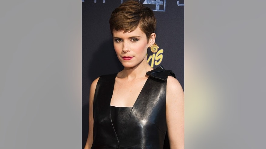 "Kate Mara attends the premiere of ""Fantastic Four"" at the Williamsburg Cinemas on Tuesday, Aug. 4, 2015, in the Brooklyn borough of New York."