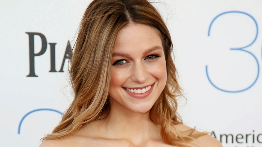 Actress Melissa Benoist arriives at the 2015 Film Independent Spirit Awards in Santa Monica, California February 21, 2015.