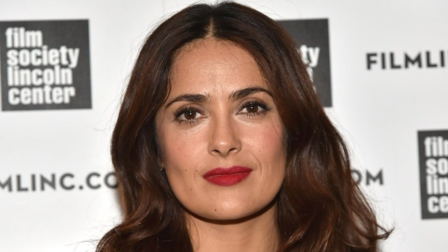 NEW YORK, NY - AUGUST 05:  Salma Hayek 2015 Film Society Of Lincoln Center Summer Talks at Elinor Bunin Munroe Film Center on August 5, 2015 in New York City.  (Photo by Theo Wargo/Getty Images)