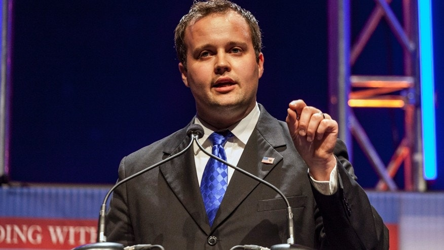 Josh Duggar, Executive Director of the Family Research Council Action, speaks at the Family Leadership Summit in Ames, Iowa August 9, 2014.