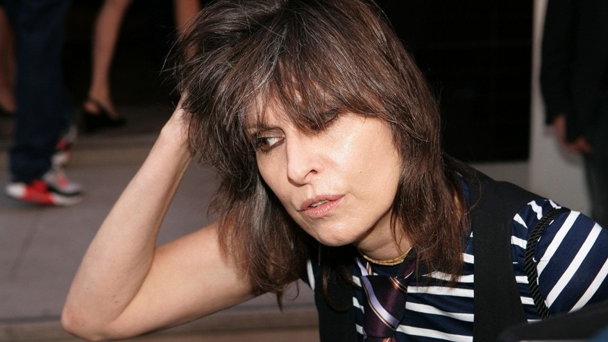 Rock singer Chrissie Hynde arrives at the first ever PETA (People for the Ethical Treatment of Animals) Europe humanitarian awards at the Stella McCartney fashion boutique in London,Britain June 28, 2006.