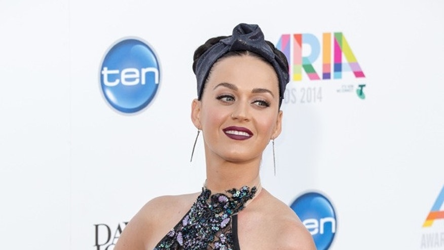 Katy Perry arrives at the ARIA Awards.<P>Pictured: Katy Perry<P><B>Ref: SPL900335  271114  </B><BR/>Picture by: Paul Shedlowich / Splash News<BR/></P><P><B>Splash News and Pictures</B><BR/>Los Angeles:310-821-2666<BR/>New York:212-619-2666<BR/>London:870-934-2666<BR/>photodesk@splashnews.com<BR/></P>