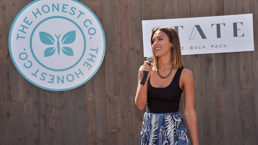 Jessica Alba on August 17, 2015 in Arleta, California.