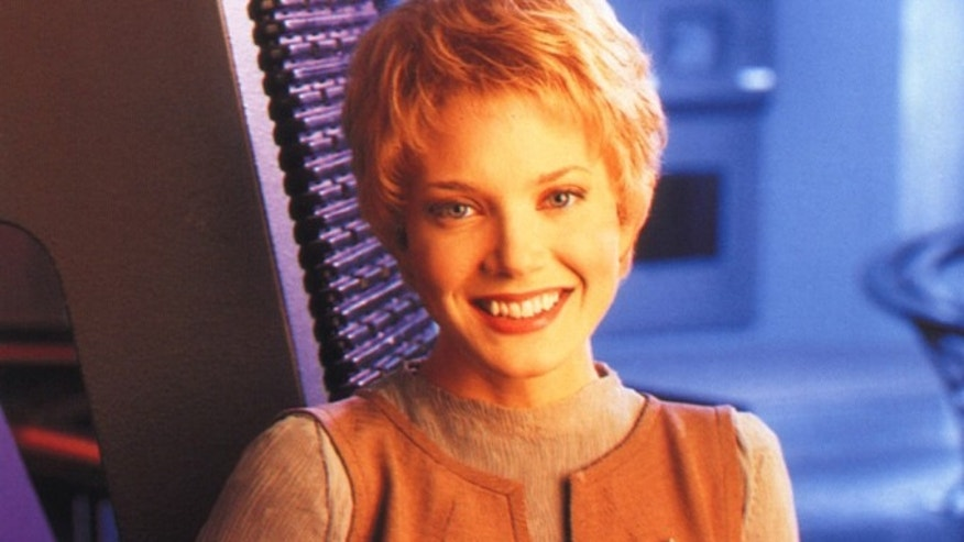 Jennifer Lien as Kes in Star Trek Voyager