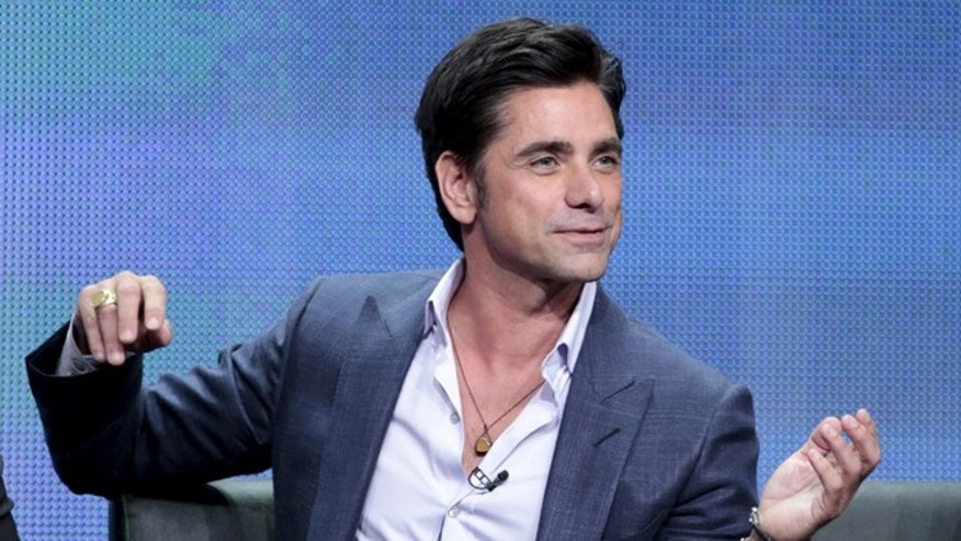 "August 6, 2015.  John Stamos participates in the FOX ""Grandfathered""panel at the Television Critics Association (TCA) Summer 2015 Press Tour in Beverly Hills, California."