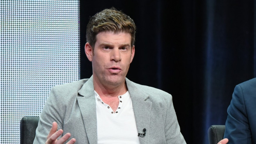 "Aug. 7, 2015. Steve Rannazzisi participates in ""The League"" panel at the FX Summer TCA Tour at the Beverly Hilton Hotel in Beverly Hills, Calif."