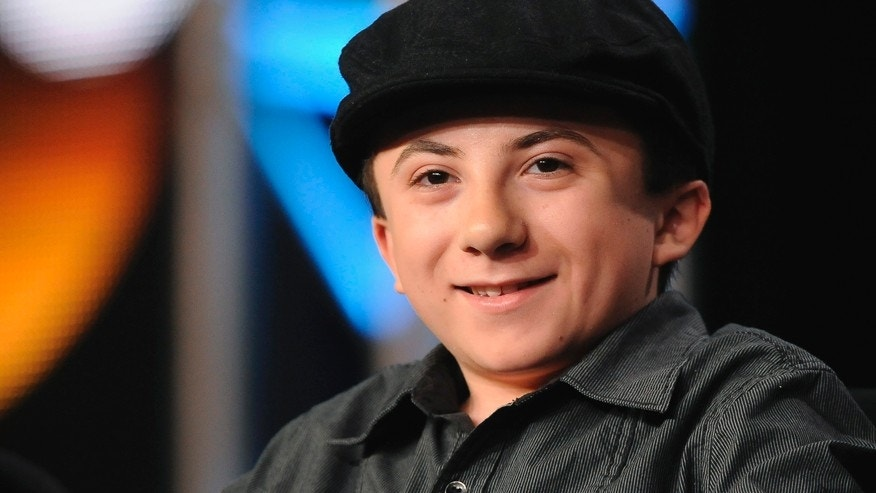 "Actor Atticus Shaffer takes part in a panel discussion of ABC's series ""The Middle"" during the 2013 Winter Press Tour for the Television Critics Association in Pasadena, California, January 10, 2013."