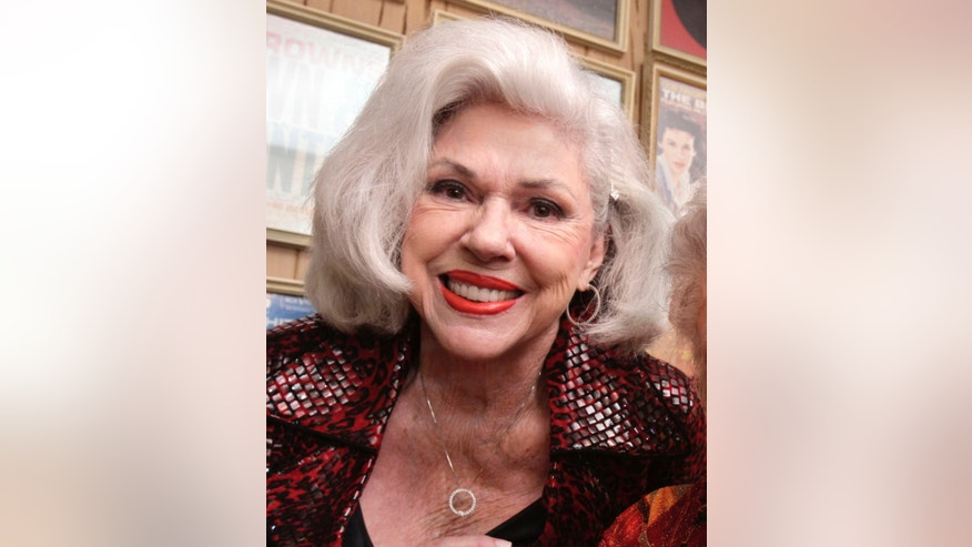 FILE - In this Sept. 10, 2010, file photo, singer Bonnie Brown poses in North Little Rock, Ark. Brown, 78, of the sibling group The Browns, said in a statement Monday, Spet. 28, 2015, that she has been diagnosed with stage four adenocarcinoma right lung cancer.  Brown said she is being treated in Little Rock, Arkansas, and is determined to live many more years. (AP Photo/Danny Johnston, File)