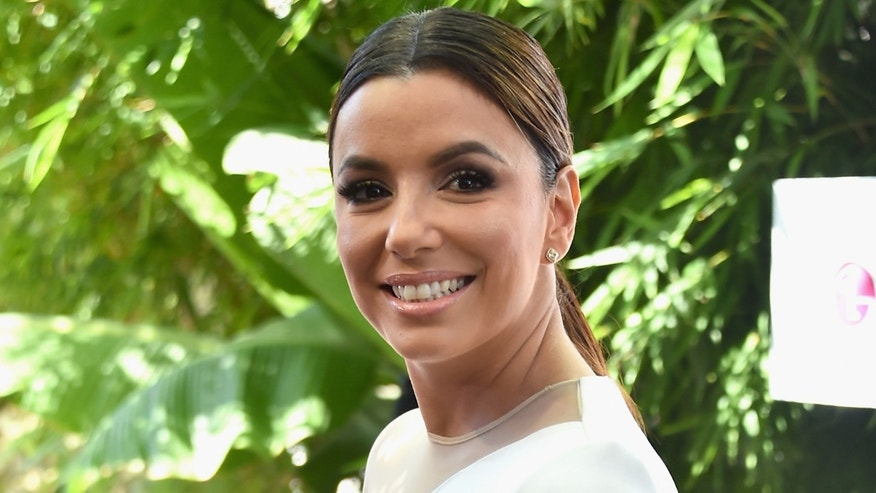Eva Longoria on August 22, 2015 in Culver City, California.