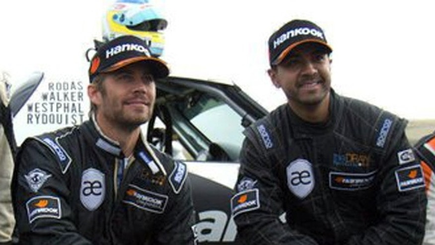 Paul Walker and Roger Rodas.