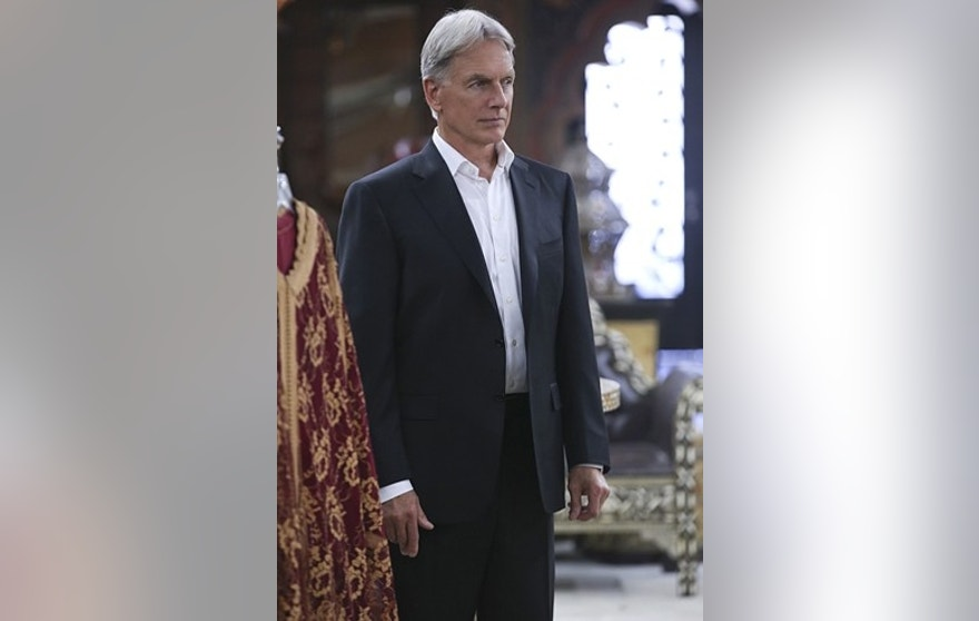 The team gossips about Gibbs' (Mark Harmon, pictured) new look after he replaces his standard military haircut and polo shirt for a modern cut and tailored dress shirt, on NCIS, Tuesday, Sept. 29.