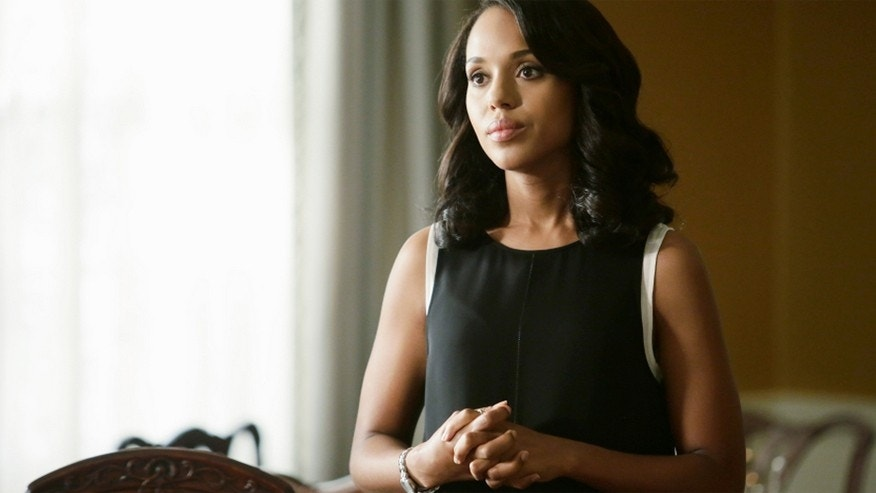 "Kerry Washington appears as Olivia Pope in ABC's ""Scandal."""