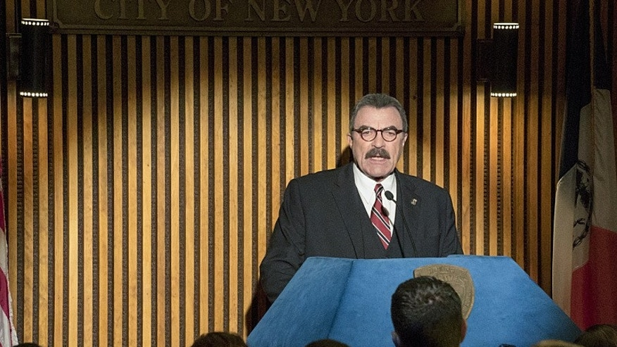 "Tom Selleck as Frank Reagan in ""Blue Bloods."""
