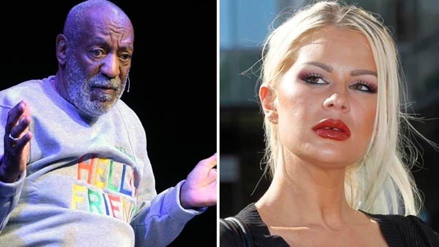Model Chloe Goins, right, accuses Bill Cosby of drugging her and sexually assaulting her while she was unconscious. (AP)