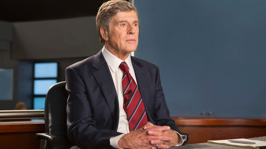 """In this image released by Sony Pictures Classics, Robert Redford portrays Dan Rather in a scene from, """"Truth."""""""