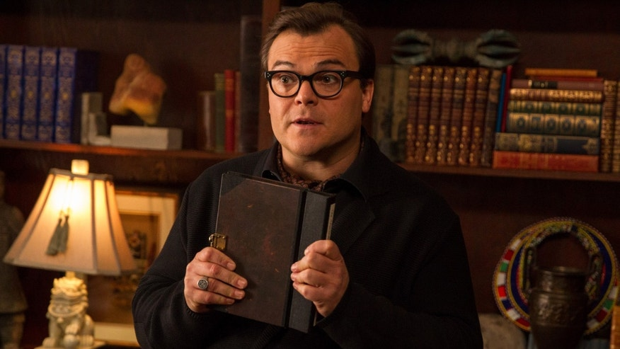 "Jack Black in ""Goosebumps."""