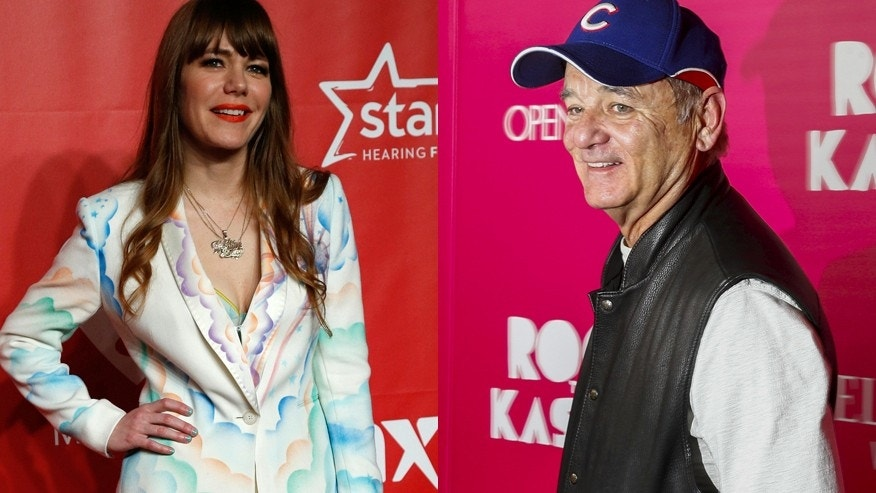Bill Murray (right) is reportedly dating singer Jenny Lewis.