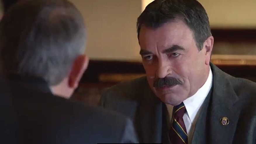 "Tom Selleck in ""Blue Bloods."""