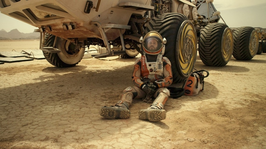 "Matt Damon in ""The Martian."""