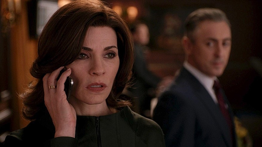 "Julianna Margulies as Alicia Florrick on ""The Good Wife."""