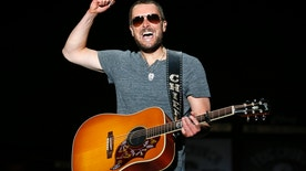 Country music star Eric Church performs on the main stage during the first day of the Stagecoach Country Music Festival in Indio, California April 25, 2014.