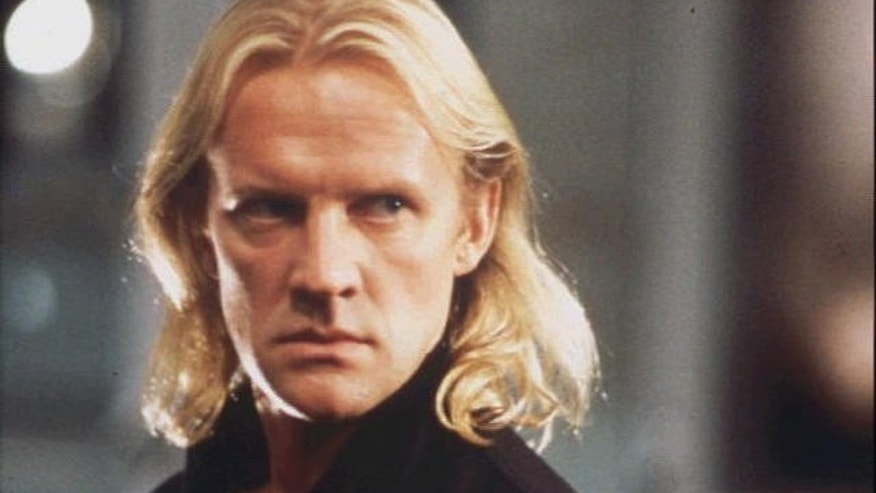 "Alexander Godunov headshot, ballet dancer/actor, scene from movie ""Die Hard."""