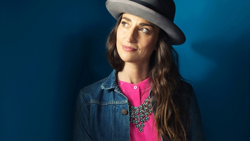 Sara Bareilles poses for a portrait in promotion of her upcoming album on Tuesday, Nov. 3, 2015 in New York.