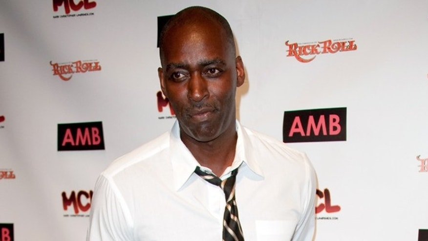 """Oct. 6, 2012. Michael Jace attends WordTheatre presents """"Storytales"""" at Ford Amphitheatre in Los Angeles."""