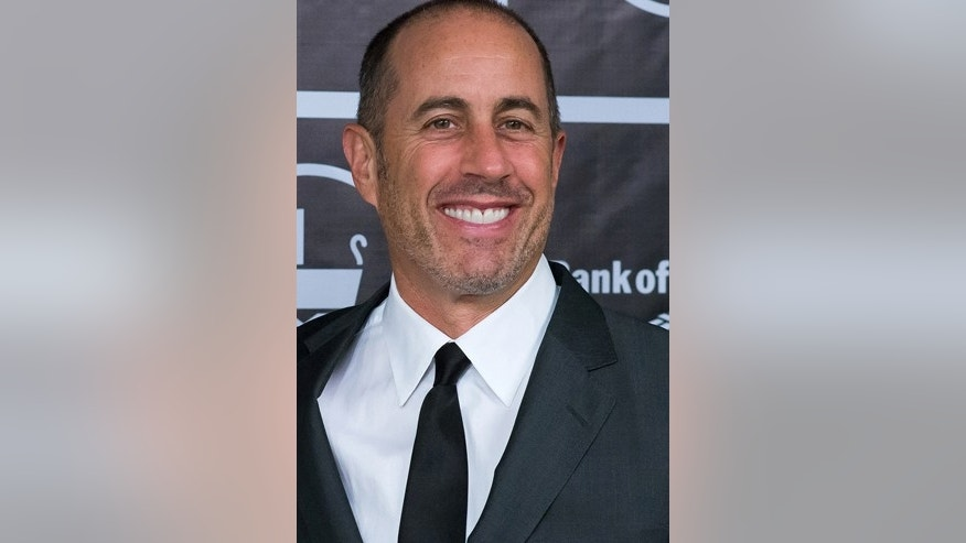 In this Nov. 16, 2015 file photo, Jerry Seinfeld attends the Baby Buggy Gala at the Beacon Hotel in New York.