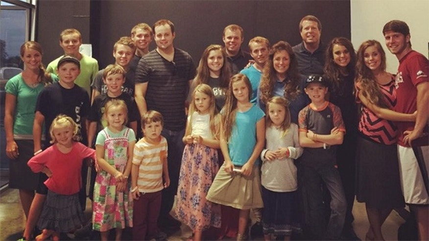 The Duggar family.
