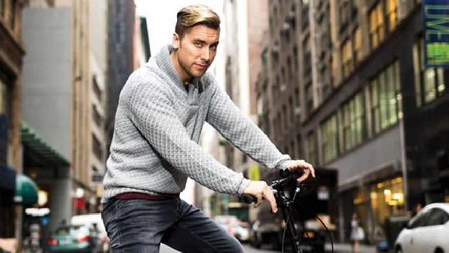 December 2015. Lance Bass in BELLA New York magazine.