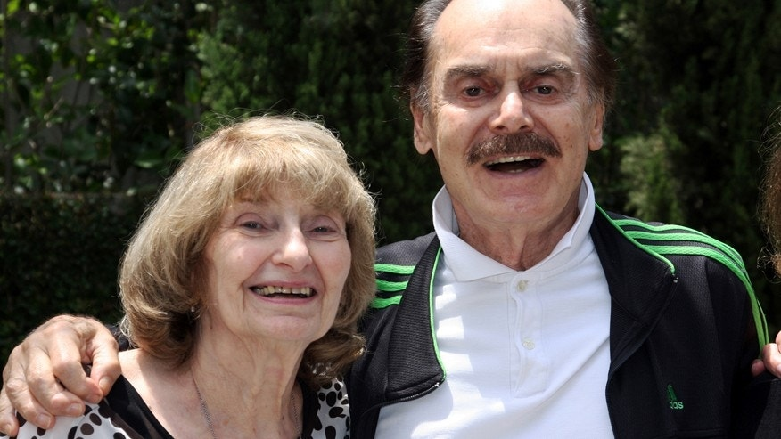 This 2008 photo provided by Jon Landau shows, Edie Landau, left, with Martin E. Brooks at a Mother's day brunch in Brentwood, Calif.