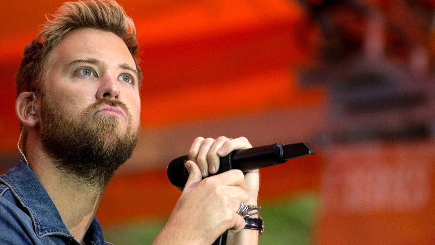 Charles Kelley of country band Lady Antebellum appears on NBC's 'Today' show in New York September 30, 2014.