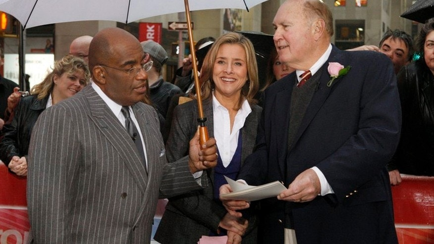 Pictured: (l-r) Al Roker, Meredith Vieira and Willard Scott.