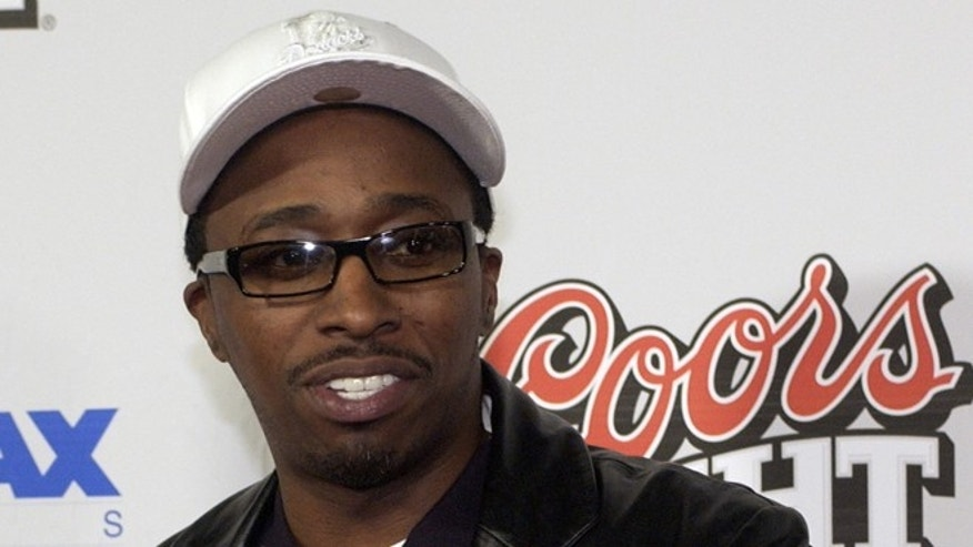 "January 8, 2004. Actor/comedian Eddie Griffin arrives at the premiere of his film ""My Baby's Daddy"" in Hollywood, CA."