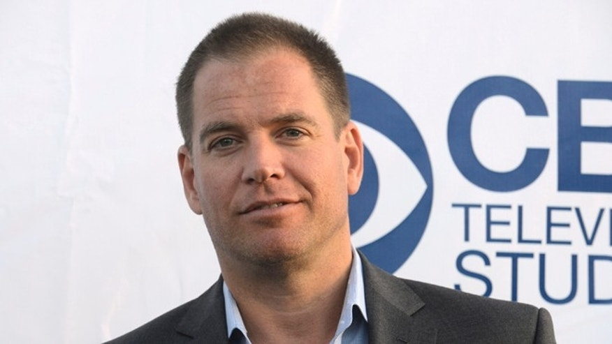 "May 19, 2014. Michael Weatherly attends the CBS Television Studios ""Summer Soiree"" in West Hollywood."