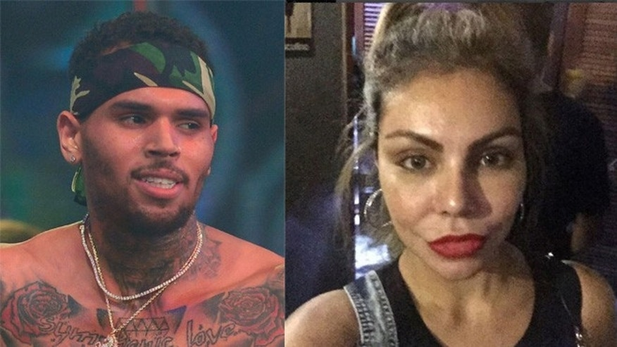 Chris Brown (left) and Liziane Gutierrez/ (Photos: Brown, Getty; Gutierrez, via Instagram)