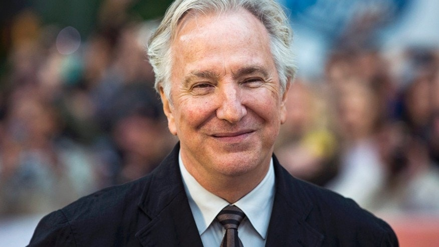 "Director Alan Rickman arrives for the ""A Little Chaos"" gala during the Toronto International Film Festival (TIFF) in Toronto, September 13, 2014.    REUTERS/Mark Blinch (CANADA - Tags: ENTERTAINMENT) - RTR4647A"