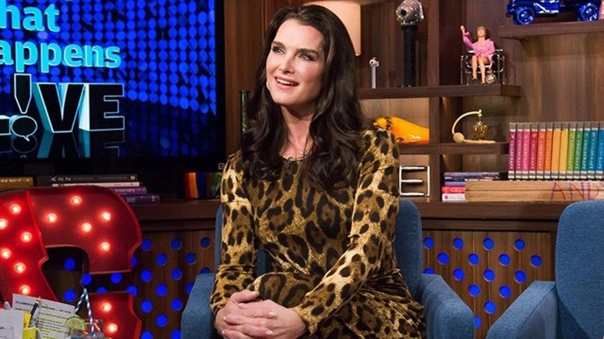 "Brooke Shields on ""Watch What Happens Live."""