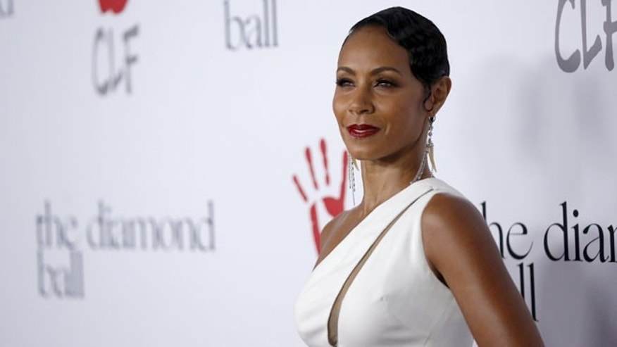 December 10, 2015. Actress Jada Pinkett Smith poses at the second annual Diamond Ball fundraising event in Santa Monica, California.
